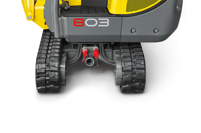 "Raccordement de la 803 ""dual power"" Wacker Neuson"